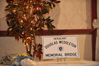 Sgt Weddleton Bridge Dedication